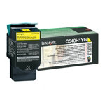 Lexmark 0C540H1YG Original Toner Cartridge Yellow