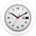 9 3 4 Quartz Office Wall Clock With Day Date