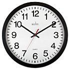 14cent Quartz Heavy Duty Office Wall Clock Black