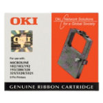 Oki 1595 Nylon Print Ribbon Black