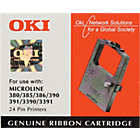OKI Ribbon 09002309 Black