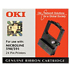 OKI Printer Ribbon ML590 Black