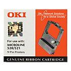 OKI 4837 Nylon Ribbon Black