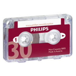Philips 30 Minute Mini Cassette Tape