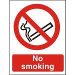 Prohibition Signs No Smoking PVC 150 x 200 mm