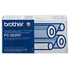 Brother PC202 Black Thermal Transfer Ribbon Twin Pack