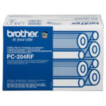 Brother PC204RF Black Thermal Transfer Ribbon