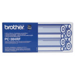 Brother PC304RF Original Black Thermal Transfer Film quad pack PC 304RF