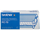 Brother PC 70 Original Black Ribbon Cartridge