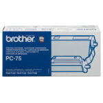 Brother PC75 Fax Ribbon Black