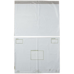 Post Safe Bio Degradable Polythene Bags 595 x 430mm Pack 100