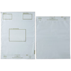 Post Safe polythene postal bags 335 x 430mm pack of 100