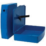 Office Depot Plastic Box File Blue 368 x 79 x 284 mm