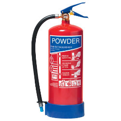6kg ABC Powder Refillable Fire Extinguisher