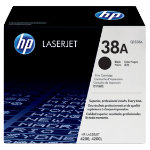 Original HP Q1338A LaserJet black toner cartridge HP No 38A