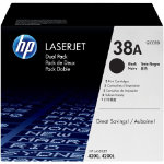 Original HP Q1338D LaserJet black toner twin pack