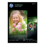 HP Everyday Photo Paper Glossy White A4 200gsm inkjet