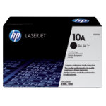 Original HP Q2610A LaserJet black toner cartridge HP No 10A