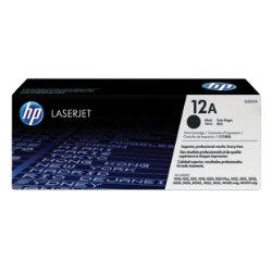 HP 12A Original Black Toner Cartridge Q2612A