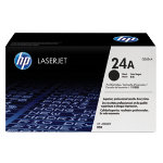 Original HP Q2624A LaserJet black toner cartridge HP No 24A