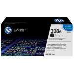 Original HP Q2670A LaserJet black toner cartridge HP No 308A