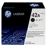 Original HP Q5942A LaserJet black toner cartridge HP No 42A