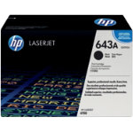 Original HP Q5950A LaserJet black toner cartridge HP No 643A