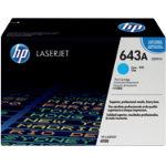 Original HP Q5951A LaserJet cyan toner cartridge HP No 643A