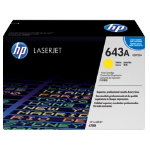 Original HP Q5952A LaserJet yellow toner cartridge HP No 643A