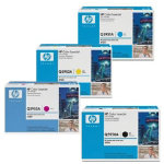 HP Q5950123A Original Black 3 Colours Cartridges