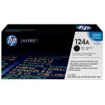 Original HP Q6000A LaserJet black toner cartridge HP No 124A
