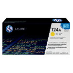Original HP Q6002A LaserJet yellow toner cartridge HP No 124A