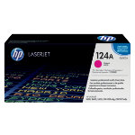 Original HP Q6003A LaserJet magenta toner cartridge HP No 124A