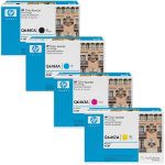 HP Black Cyan Magenta Yellow Toner Bundle Q646BUNDLE