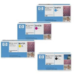 Original HP LaserJet Q6470 Q64701 Q64702 Q64703A set of four laser toners black cyan magenta yellow