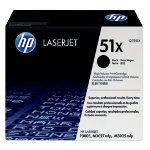 Original HP Q7551X LaserJet black toner cartridge HP No 51X