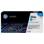 Original HP Q7561A LaserJet cyan toner cartridge HP No 314A