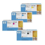 Original HP Q7560A Q7561A Q7562A Q7563A set of four laser toners black cyan magenta yellow HP No 314A