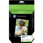 HP 363 Original Ink Cartridge Q7966EE Black 5 Colours Pack 6