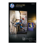HP Advanced Photo Paper Glossy Inkjet 100 x 150 mm 250gsm pack of 60