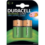 Duracell C HR14 Rechargeable Batteries 2 per pack