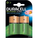 Duracell D HR20 Rechargeable Batteries 2 per pack