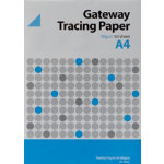Tracing Paper 90gsm 297 cm x 21 cm x 210 mm Clear 50 Pieces