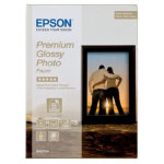 Epson Premium Photo Paper White Glossy Inkjet 130 x 180 mm 255gsm