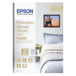 Epson Premium Photo Paper Glossy White A4 255gsm