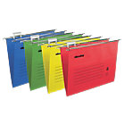 Niceday suspension files assorted foolscap pack of 50