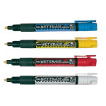 Pentel liquid chalk markers pack 4 assorted colours