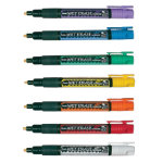 Pentel liquid chalk markers pack 7 assorted colours