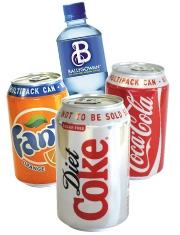 As low as 42c each on Sparkling drinks