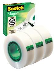 Buy 2 get 1 Free on Scotch Magic Tape